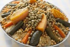 Festive Moroccan couscous Stock Images