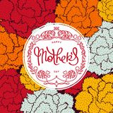 Festive Mother`s Day backgraund Royalty Free Stock Photos