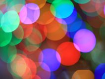 Festive multicolored background with boke effect Stock Image
