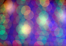 Festive multicolored background with boke effect Royalty Free Stock Photos