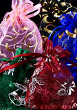 Festive Net Gift Bags Royalty Free Stock Photo