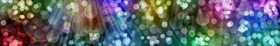 Festive New Year background. Beautiful bokeh. Banner Stock Images