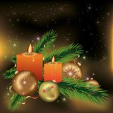 Festive New year and Christmas background Royalty Free Stock Images