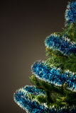 Festive New Year tree Royalty Free Stock Image