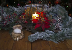 In festive night Royalty Free Stock Photo