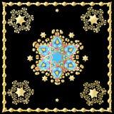Festive oriental carpet Royalty Free Stock Photos