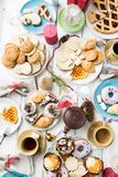 Festive pastry Stock Images