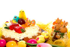Festive pastry, easter tart Stock Photography