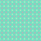 Festive pattern of snowflakes. Festive pattern of snowflakes on a green background Stock Images