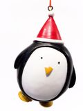 Festive Penguin. Decoration Royalty Free Stock Photos