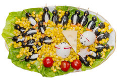 Festive plate for special celebrations Stock Photography