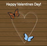 Festive poster happy Valentine's day. Pattern to decorate Royalty Free Stock Photos
