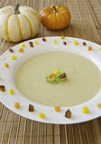 Festive Potato Leek Soup Stock Photos