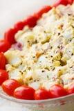 Festive Potato Salad royalty free stock image