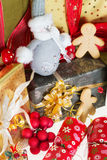 Festive presents Royalty Free Stock Image