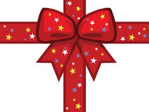 Festive presents ribbon Royalty Free Stock Images