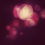 Festive purple background. Purple Festive Christmas elegant abstract background with bokeh lights and stars Royalty Free Stock Photo