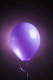 Festive purple balloon Stock Photos
