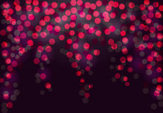 Festive purple and pink luminous background. stock illustration