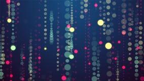 Festive circles Rain animation background new quality shape universal motion dynamic animated colorful joyful holiday