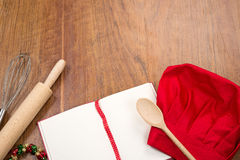 Festive recipes Royalty Free Stock Images