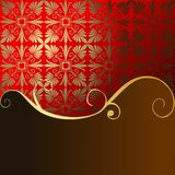 Festive red background. With space for your text Stock Photo