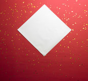 Festive red background Stock Image