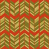 Festive Retro Christmas Background In Traditional Colors Royalty Free Stock Image