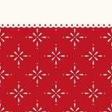 Festive retro Christmas background in traditional colors. For your decoration Stock Photo
