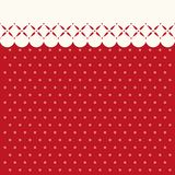Festive retro Christmas background in traditional colors. For your decoration Stock Images
