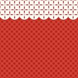 Festive retro Christmas background in traditional colors. For your decoration Royalty Free Stock Photography