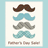 Festive retro greeting card for Father`s day. For your decoration Royalty Free Stock Photography