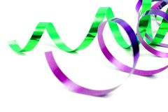 Festive ribbon Stock Images
