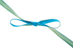 Festive Ribbon in a Bow Royalty Free Stock Images