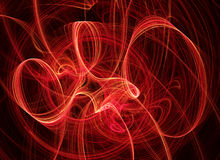 Festive ribbons background. Digital generated this image Stock Photos