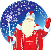 Festive Santa Claus - Stock Vector Royalty Free Stock Photos