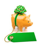 Festive Savings Bank Royalty Free Stock Photography