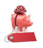 Festive Savings Bank Stock Image