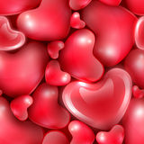 Festive seamless background. Happy Valentine's Day seamless background Royalty Free Stock Image