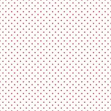 Festive seamless background in national colors USA red white blue. Polka dot Great idea for decorating the holiday on July 4th, In. Festive seamless background Stock Photo