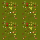 Festive Seamless Background. With stars Royalty Free Stock Photos