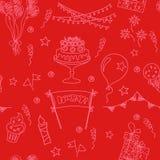Festive seamless pattern Royalty Free Stock Photos
