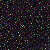 Festive seamless pattern with colored circles Stock Images