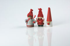 Festive Season Christmas figures Stock Images