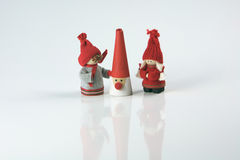 Festive Season Christmas figures Royalty Free Stock Image