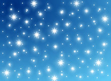 Festive Snow and Ice Background Royalty Free Stock Images