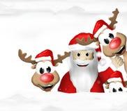 Festive snow winter scenery background. Graphic illustration Royalty Free Stock Photo