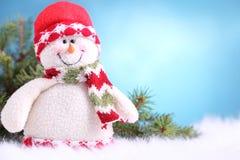 Festive snowman Stock Photo