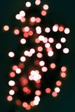 Festive sparkle backgroung in Living coral lights. stock photography