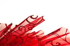 Festive sparkle red background Royalty Free Stock Photography